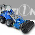 power-harrow for mini loader