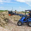 MultiOne mini loader 8 series with screening bucket