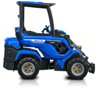 Compact Articulated Mini Loader